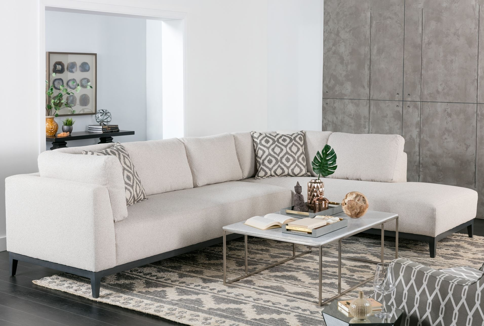 Bunch Ideas Of Sectional Sofa With 2 Chaises For Your Avalon 2 Piece With Aspen 2 Piece Sectionals With Raf Chaise (Image 11 of 25)