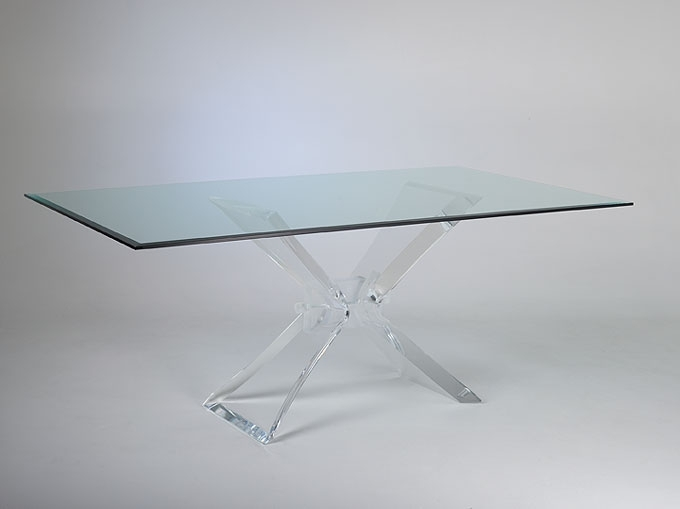 Butterfly Acrylic Dining Table   With Regard To Acrylic Dining Tables (Image 11 of 25)