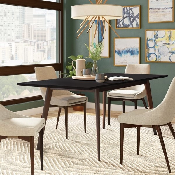 Butterfly Dining Table | Wayfair With Regard To Teagan Extension Dining Tables (Image 5 of 25)