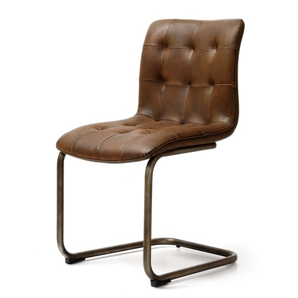 Button Back Dining Chair | Wayfair.co (Image 4 of 25)