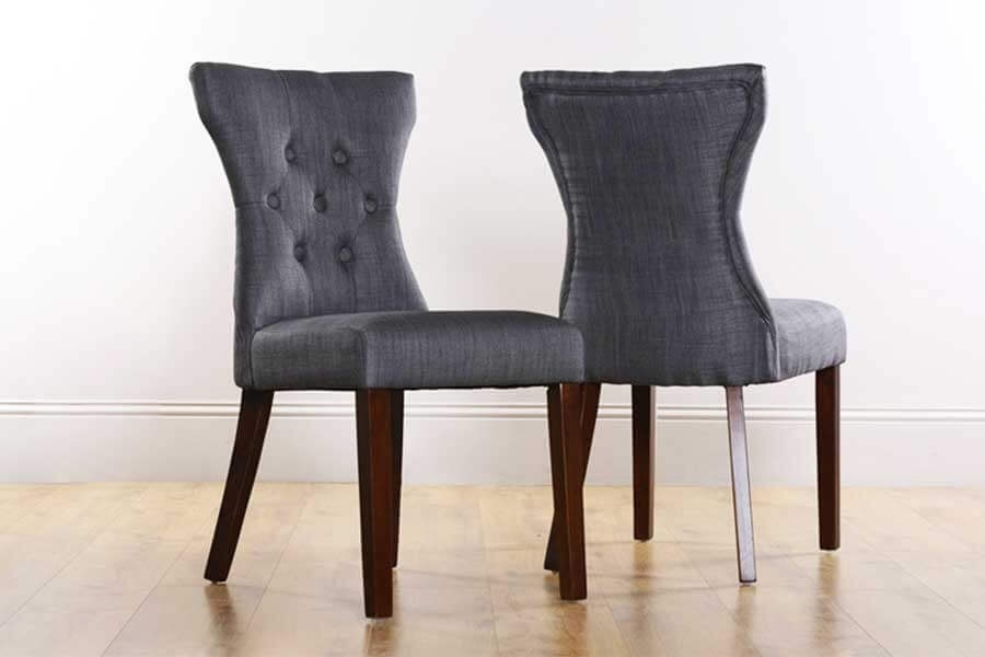 Button Back Dining Chairs | Furniture Choice Within Button Back Dining Chairs (Image 5 of 25)