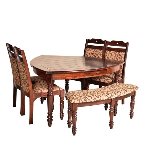 Buy Baylor Solidwood 6 Seater Dining Tablehometown Online – Six In Dining Tables For Six (Image 5 of 25)