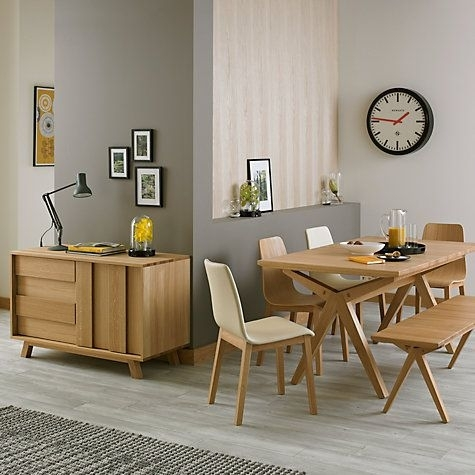 Buy Bethan Gray For John Lewis Noah 6 10 Seater Extending Dining Intended For Noah Dining Tables (View 14 of 25)