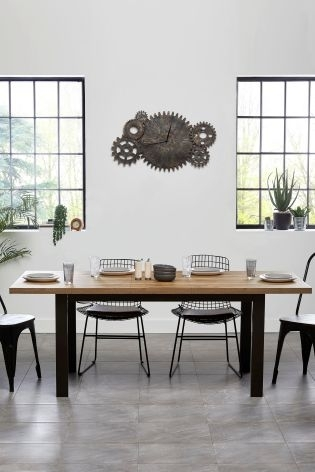 Buy Bronx 6 8 Seater Extending Dining Table From The Next Uk Online Shop For Extendable Dining Tables With 8 Seats (View 17 of 25)