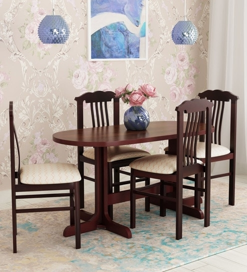 Buy Cairo Four Seater Dining Setelegancelooking Good Intended For Caira 9 Piece Extension Dining Sets (View 21 of 25)