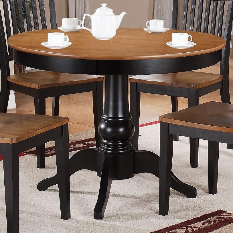 Buy Candice Round Pedestal Tablesteve Silver From Www Within Candice Ii Round Dining Tables (Image 3 of 25)