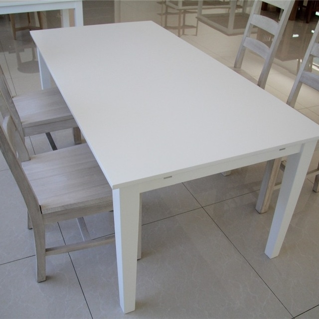 Buy Cheap China Dining Room Set White Table Products, Find China With White Melamine Dining Tables (View 9 of 25)