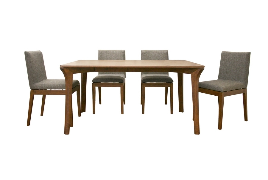 Buy Dining Sets Online | See White Within Macie 5 Piece Round Dining Sets (Image 9 of 25)
