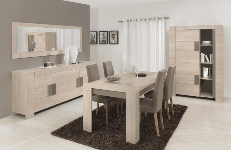 Buy Gami Atlanta Light Oak Dining Table – Square Online – Cfs Uk Intended For Square Oak Dining Tables (Image 5 of 25)