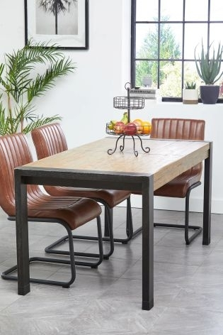 Buy Hudson 6 – 8 Extending Dining Table From The Next Uk Online Shop With Regard To Jaxon 6 Piece Rectangle Dining Sets With Bench & Uph Chairs (View 16 of 25)