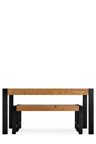 Buy Hudson Dining Table And Bench Set From The Next Uk Online Shop Throughout Next Hudson Dining Tables (Image 7 of 25)