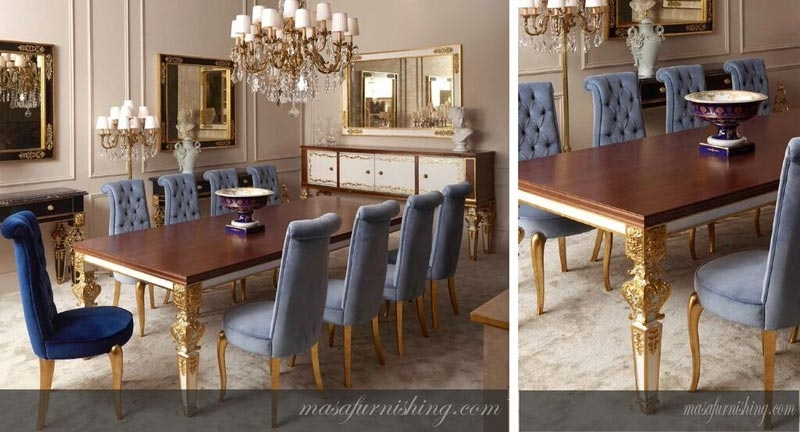 Buy Italian Dining Table Set From Masa Gaia, India | Id – 1264288 Intended For Italian Dining Tables (Image 4 of 25)