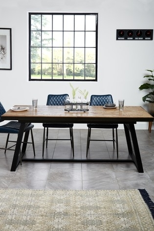 Buy Jefferson Extending Dining Table From The Next Uk Online Shop With Jaxon 6 Piece Rectangle Dining Sets With Bench & Uph Chairs (Image 7 of 25)