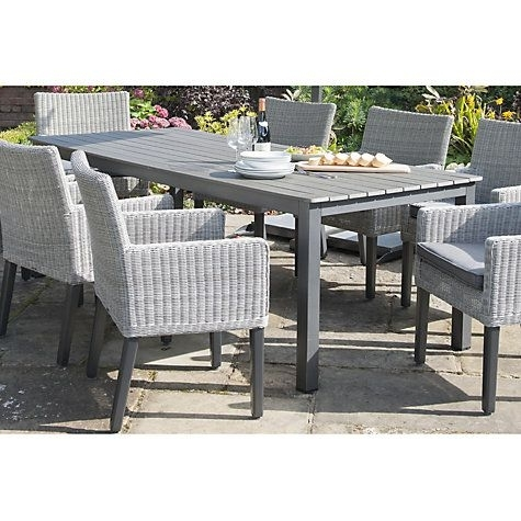 Buy Kettler Bretagne 8 Seater Outdoor Dining Table Online At In 8 Seat Outdoor Dining Tables (View 10 of 25)