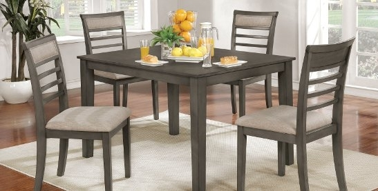 Buy Kitchen & Dining Room Sets Online At Overstock | Our Best In Palazzo 6 Piece Dining Sets With Pearson Grey Side Chairs (Image 10 of 25)
