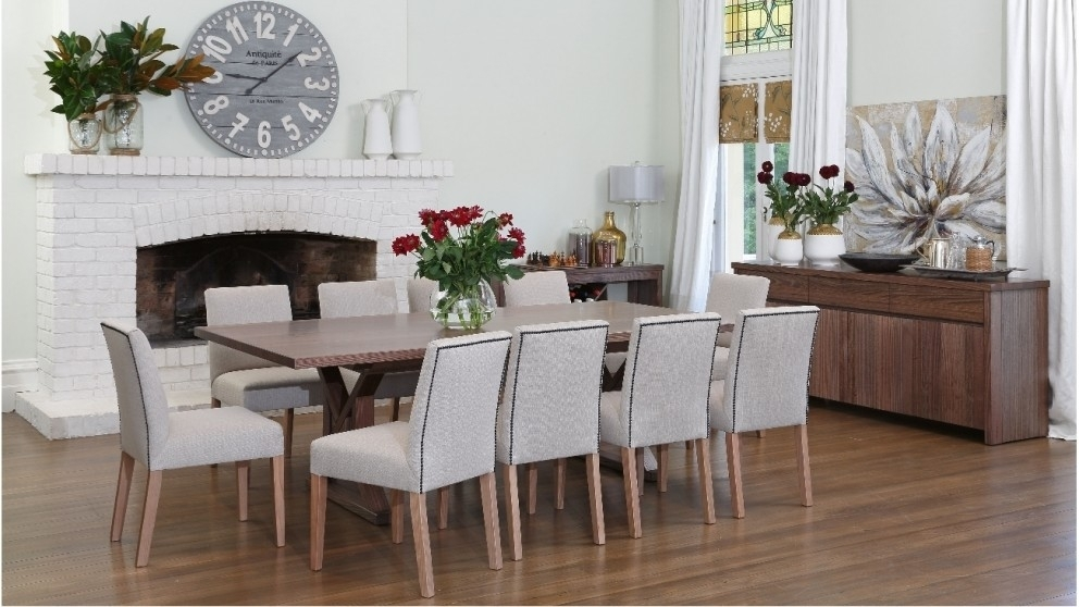 Buy Lombardozzi Dining Table | Harvey Norman Au With Regard To Harvey Dining Tables (Image 7 of 25)