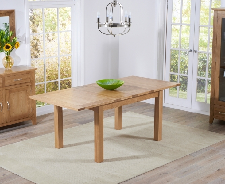 Buy Mark Harris Cambridge Solid Oak Dining Table – 130Cm Rectangular Regarding Cambridge Dining Tables (View 3 of 25)