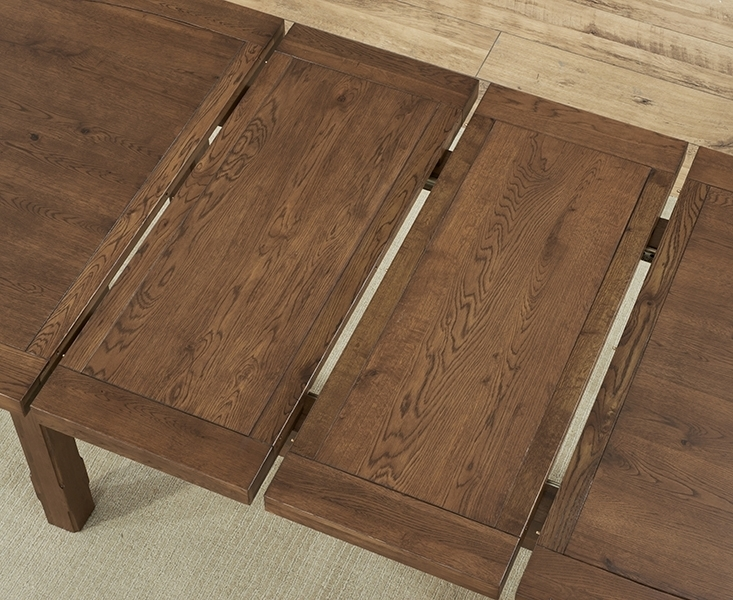 Buy Mark Harris Cheyenne Solid Dark Oak Dining Table – Oval Regarding Dark Wood Extending Dining Tables (Image 1 of 25)