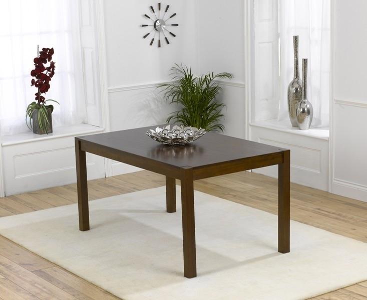 Buy Mark Harris Marbella Dark Dining Table – 150Cm Rectangular Throughout Marbella Dining Tables (Image 7 of 25)