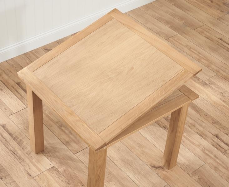 Buy Mark Harris Sandringham Solid Oak Dining Table – 90Cm Square Intended For Cheap Oak Dining Tables (Image 3 of 25)