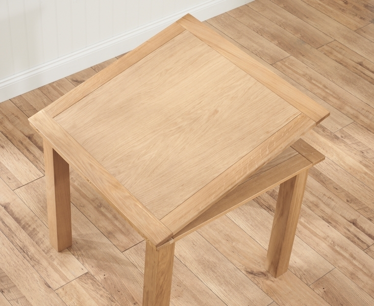 Buy Mark Harris Sandringham Solid Oak Dining Table – 90Cm Square Throughout Extending Oak Dining Tables (View 16 of 25)