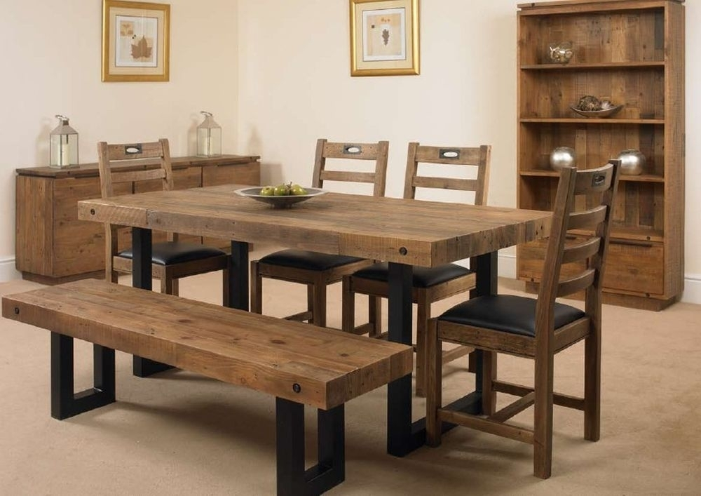 Buy Mark Webster New York Rectangular Dining Set With 4 Chairs And Inside New York Dining Tables (Photo 1 of 25)