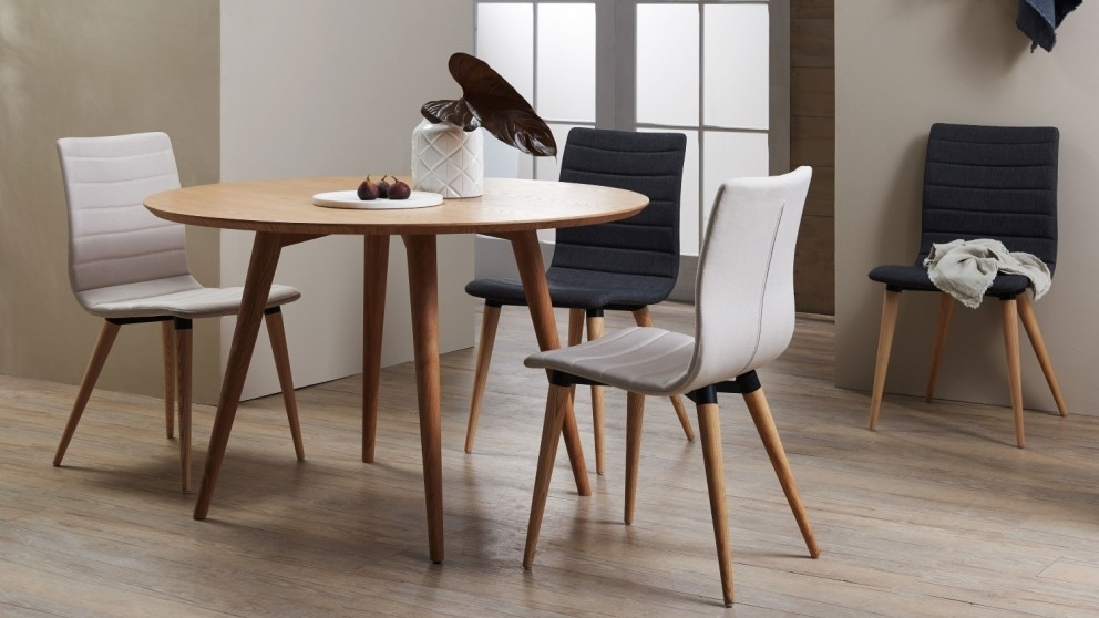 Buy Marli Round Dining Table | Domayne Au With Regard To Round Dining Tables (View 21 of 25)