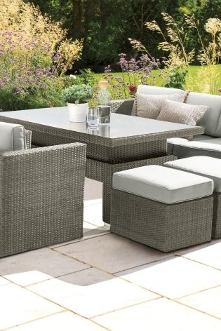 Buy Monaco Living And Dining Table Garden Set From The Next Uk Pertaining To Monaco Dining Tables (Image 3 of 25)