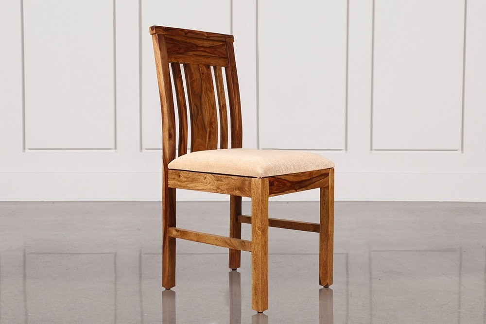 Buy New Kaira Honey Color Sheesham Wood Dining Chair Online In India Within Sheesham Wood Dining Chairs (Image 2 of 25)