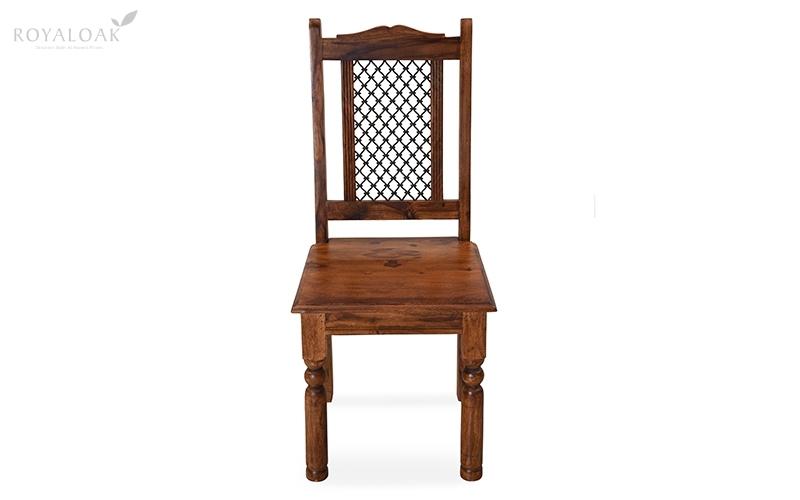 Buy Royaloak Haveli Sheesham Wood Dining Chaironline In India For Sheesham Dining Chairs (Image 5 of 25)