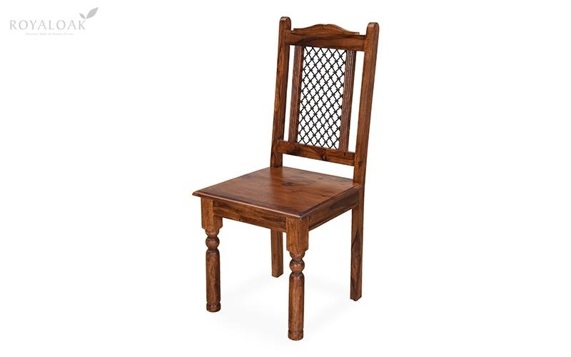 Buy Royaloak Haveli Sheesham Wood Dining Chaironline In India For Sheesham Wood Dining Chairs (Image 5 of 25)