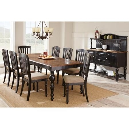 Buy Steve Silver Carrolton 9 Piece Dining Table Set With Optional With Regard To Candice Ii 7 Piece Extension Rectangular Dining Sets With Slat Back Side Chairs (View 8 of 25)