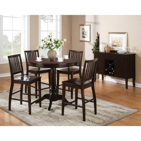 Buy Steve Silver Company Candice Round Counter Height Dining Table Pertaining To Candice Ii 5 Piece Round Dining Sets (Image 6 of 25)