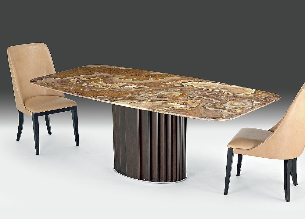 Buy Stone International Mayfair Marble Rectangular Dining Table With Pertaining To Mayfair Dining Tables (Image 6 of 25)