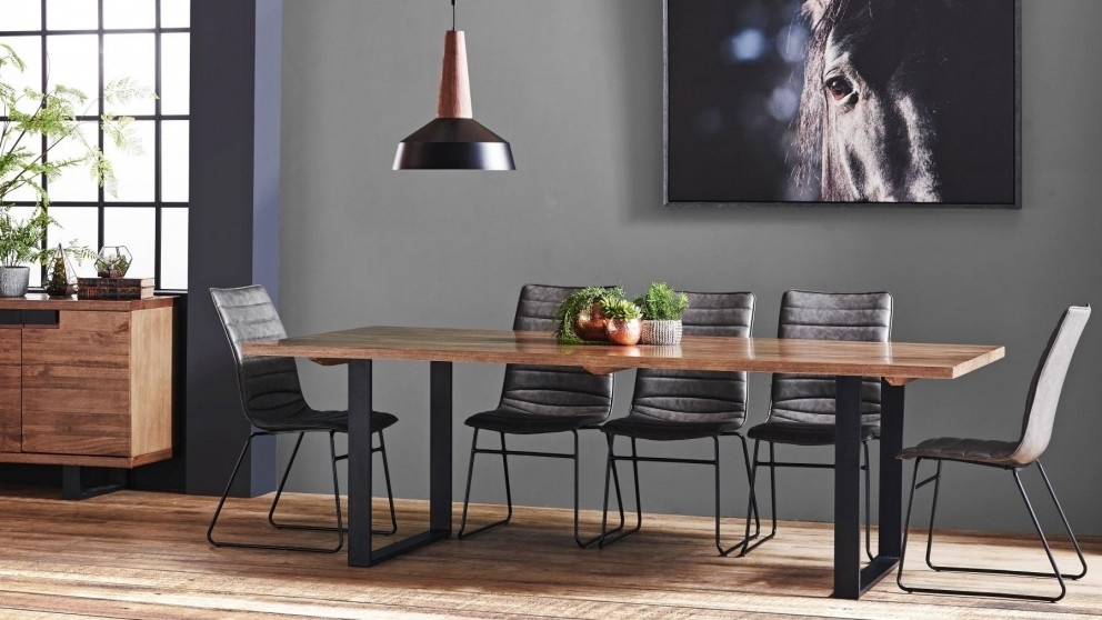 Buy Strand 9 Piece Rectangular Dining Suite | Harvey Norman Au With Harvey Dining Tables (Image 10 of 25)