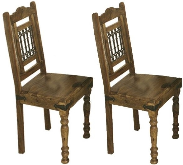 Buy Thacket Sheesham Dining Chair (Pair) Online – Cfs Uk With Sheesham Dining Chairs (Image 6 of 25)