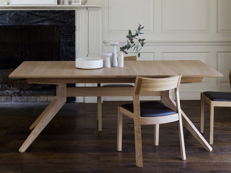 Buy The Case Furniture Cross Extending Dining Table At Nest.co (Image 4 of 25)