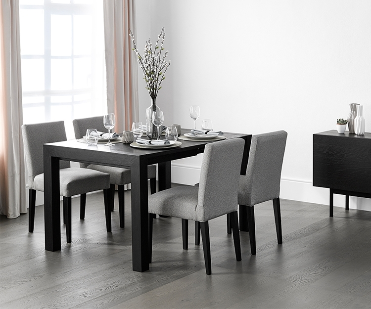 Buy Vienna Wenge Square Extending Dining Table – David Phillips Regarding Square Extendable Dining Tables And Chairs (Image 3 of 25)