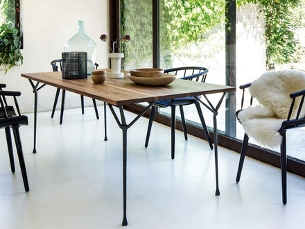 Buy Wooden Dining Tables Online | Connox Shop With Regard To Lassen Round Dining Tables (Image 5 of 25)