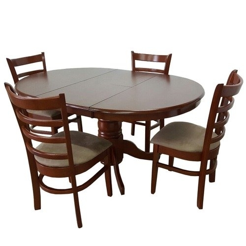 By Designs Bennett 4 Seater Extendable Dining Table Set & Reviews Inside Extendable Dining Tables Sets (View 11 of 25)