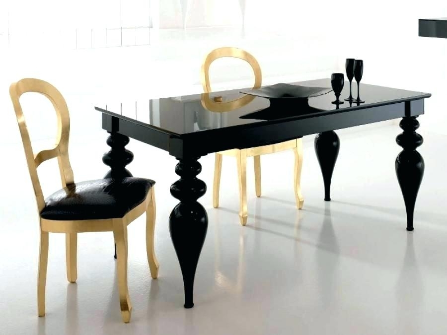 By Designs Black Gloss Dining Table 120Cm B – Christuck Throughout Black Gloss Dining Tables And Chairs (Image 5 of 25)