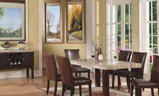 Caden 32 Piece Round Dining Set   Living Spaces – Villa Sonoma Intended For Caden Rectangle Dining Tables (View 20 of 25)