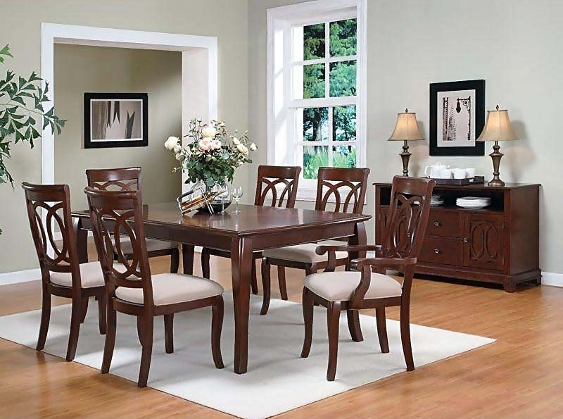 Caden Dining Room Set | Dining Room Sets Intended For Caden Round Dining Tables (Image 7 of 25)