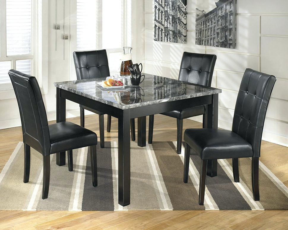 Caden Dining Set Round Dining Table Caden 5 Piece Dining Set Intended For Caden 5 Piece Round Dining Sets (Image 11 of 25)