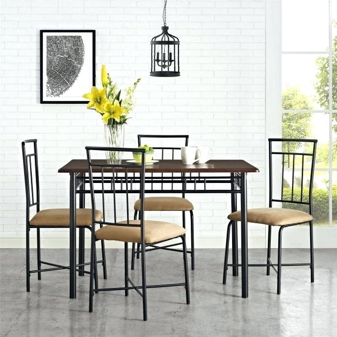 Caden Dining Set Round Dining Table Caden 5 Piece Dining Set With Regard To Caden 5 Piece Round Dining Sets (Image 13 of 25)