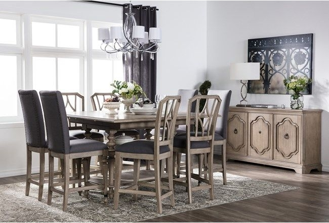 Caira Extension Counter Table | Pinterest | Extensions And House Throughout Caira Extension Pedestal Dining Tables (View 24 of 25)