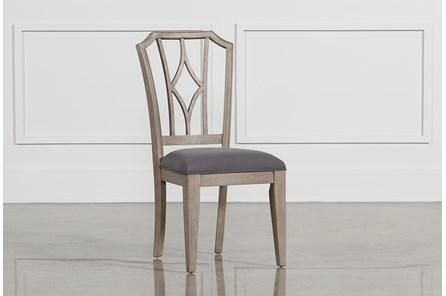 Caira Upholstered Diamond Back Side Chair | Furniture | Pinterest Intended For Caira Extension Pedestal Dining Tables (View 5 of 25)