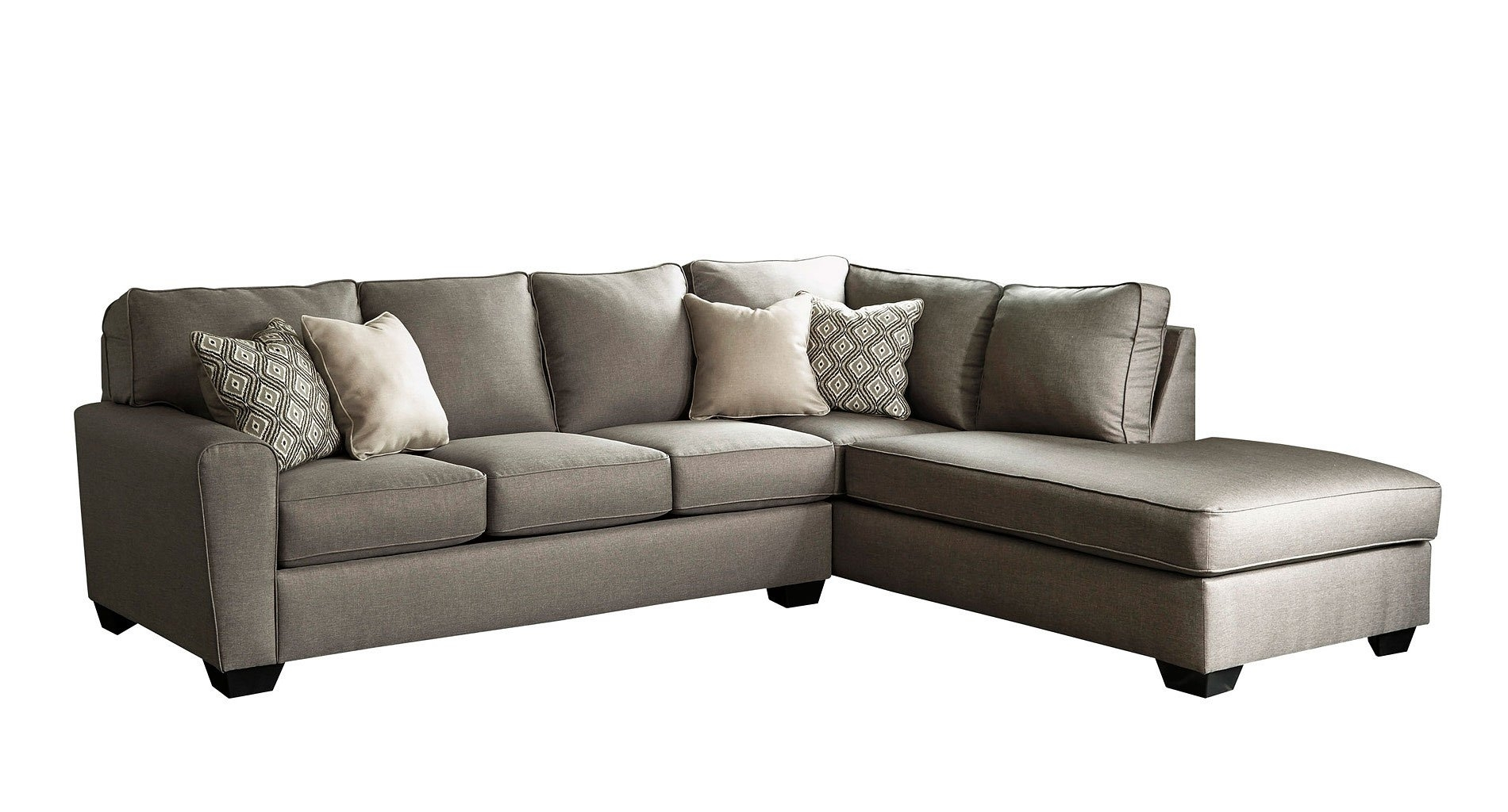 Calicho Cashmere Right Chaise Sectional – Living Room Furniture – Living Regarding Lucy Dark Grey 2 Piece Sleeper Sectionals With Raf Chaise (View 14 of 25)