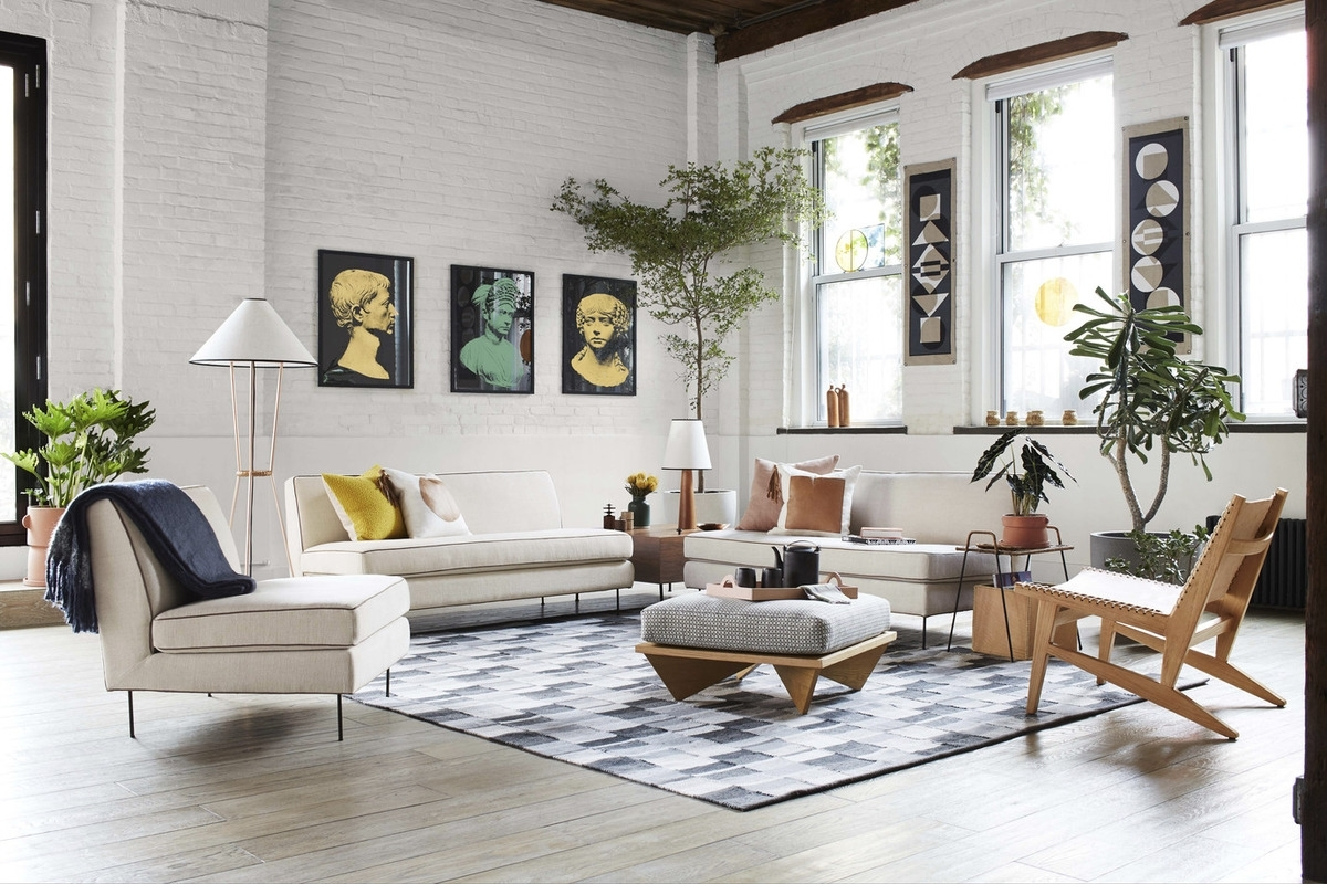 California Cool: Commune's New Collection For West Elm – Remodelista In Elm Grande Ii 2 Piece Sectionals (View 16 of 25)