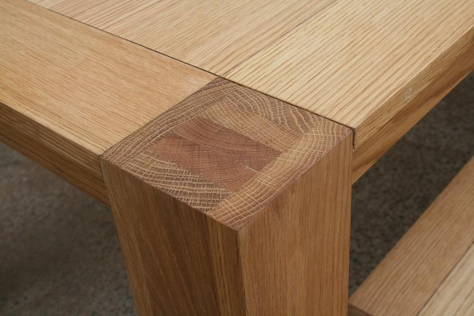 Cambridge Budget Oak Dining Tables | Cheap Oak Benches Pertaining To Cambridge Dining Tables (Image 7 of 25)